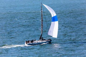 Sailboat Downwind