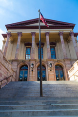 Old Lancaster County Court House Entrance