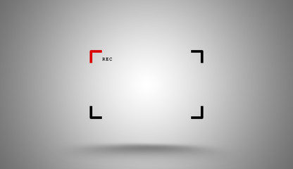 Camera viewfinder to your logo