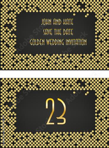 Art deco wedding invitation set great gatsby themed party stock art deco wedding invitation set great gatsby themed party stopboris Image collections