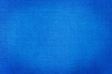 Blue Carpet Textile texture for background and wallpaper.