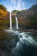 Waterfall, Wailua Falls, Kauai Island, Hawaii, United States of America