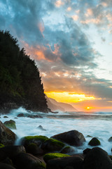 Sunset, Kauai, Hawaii, United States of America