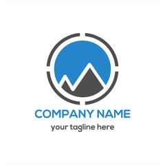 Adventure and Mountain Logo Vector