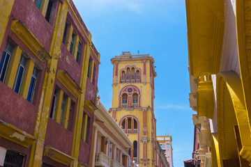 Fototapete - Historic University in Cartagena