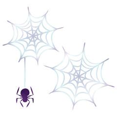 ハロウィン・クモの巣