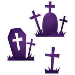 ハロウィン・墓