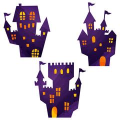 ハロウィン・城