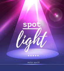 Vector abstract light effect background