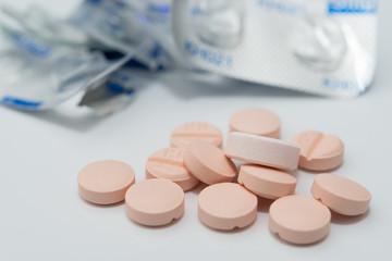 薬の服用 PTP包装 イメージ