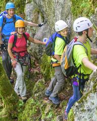 Abenteuer-Wanderung mit Klettersteig-Einlagen
