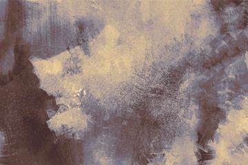 abstract painting of grey texture background on the basis of paint Wall mural
