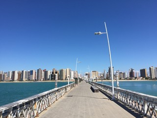 Fortaleza view from the pier