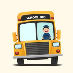 Vector illustration School bus
