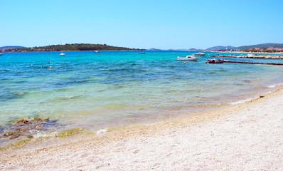 Beach in Srima, Croatia.