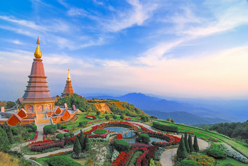 "Top ten of landscape view as background usage in Thailand "" as landscape Beautiful background"
