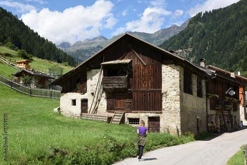 Chalet baita maso casa di montagna casa in legno for Baita di legno