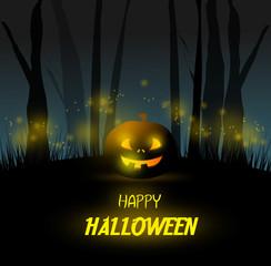 Halloween holiday card