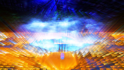 Futuristic Digital Light Technology 10931