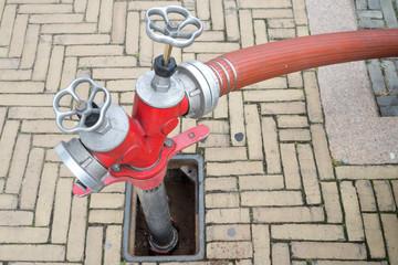 Unterflurhydrant mit Standrohr