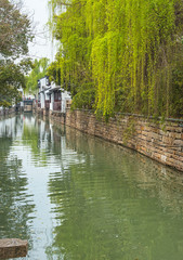 Canal in Suzhou, China