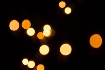 blurred xmas lights