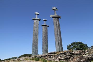 Sverd i Fjell Monument in Stavanger, Norway.