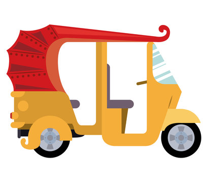 mototaxi isolated icon design, vector illustration  graphic