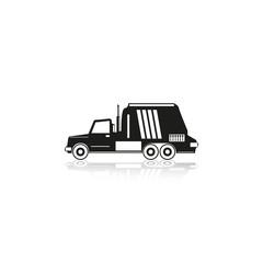 Truck. Vector icon.