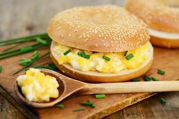 Brötchen Eier
