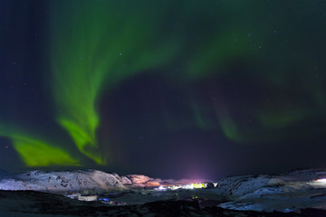 Northern lights or polar lights