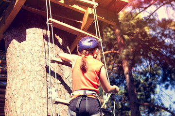 kid athlete belay climbing outfit