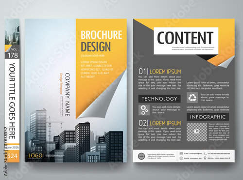 Magazine Template Indesign Free Modern Construction Magazine - Brochure design templates indesign
