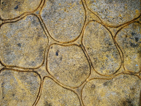 concrete stamped texture