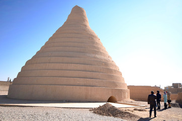 Ancient Ice House in Abarkuh, Iran