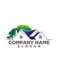 real estate vector logo design 174