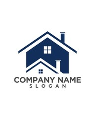 real estate vector logo design 190