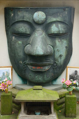 Remain of Ueno Great Buddha, Tokyo, Japan