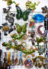 Souvenirs in the old town of Guadalest. Costa Blanca, Spain