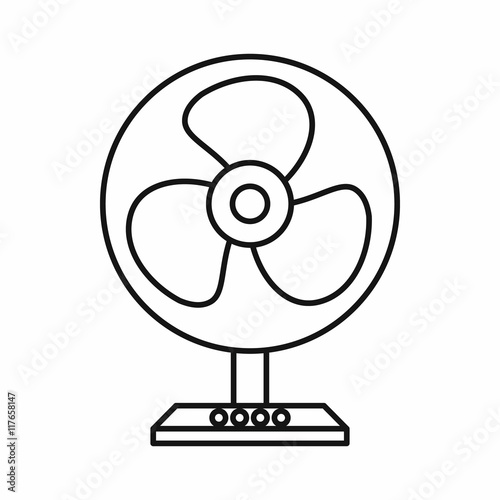 electric fan coloring pages - photo #12