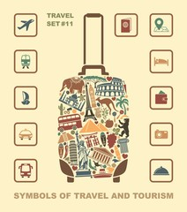 A symbol of tourism and travel