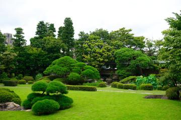 Shibamata Taishakuten Buddhist temple garden, Tokyo, Japan