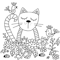 Hiqh quality original coloring pages for adults and kids. The ca