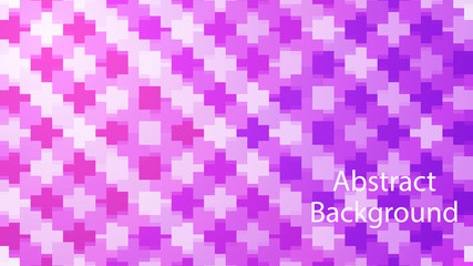 pixel purple and pink color background abstract art vector