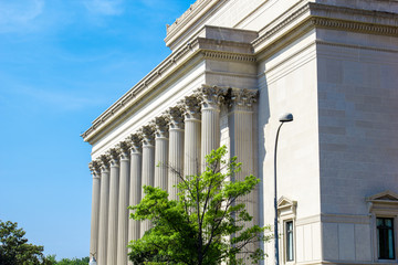 Federal Court buildings in Washington DC