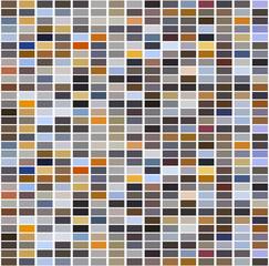 Bright colorful mosaic seamless pattern.