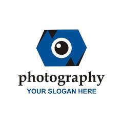 Logo vector icon for photography