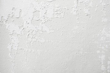Grungy white background of natural cement or stone old texture. Weathered wall backdrop