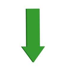 arrow direction infographic shape icon. Isolated and flat illustration. Vector graphic