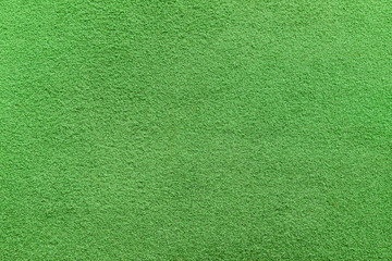 Closeup texture of artificial Putting green grass. Abstract background photo of golf turf.